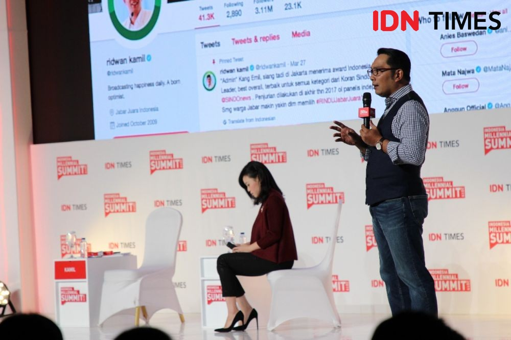 IMS 2019: Ridwan Kamil Ingatkan Millennial akan 4 Isu Penting Ini!