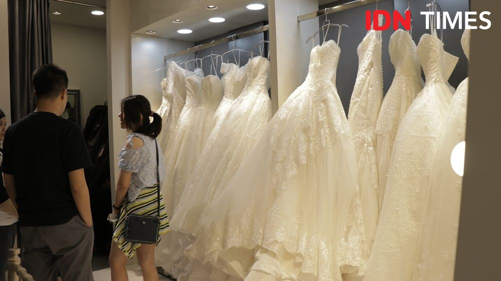 Lebih Simple, Tren Gaun Pengantin ala Indonesia Dream Wedding Festival