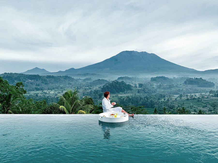6 Villa di Bali dengan Pemandangan Gunung Agung, Bikin Gak Mau Pulang!