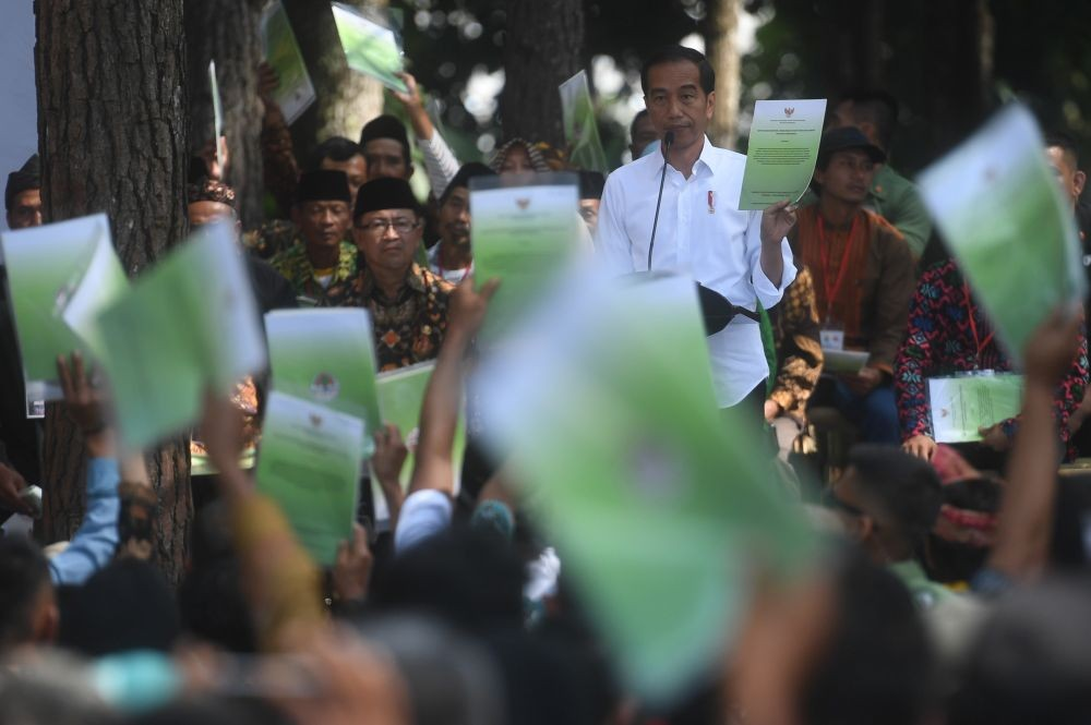 Didukung 1000 Purnawirawan TNI-Polri, Jokowi: Netralitas Tak Terganggu