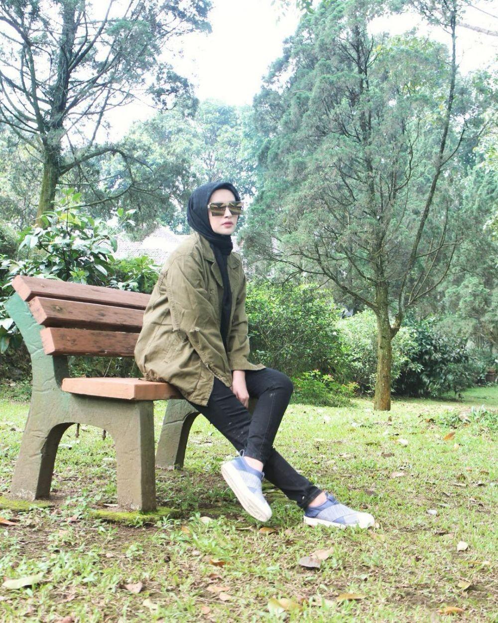 10 Potret Angel Qulbiah, Istri Richie 'Five Minutes' yang Menawan Abis