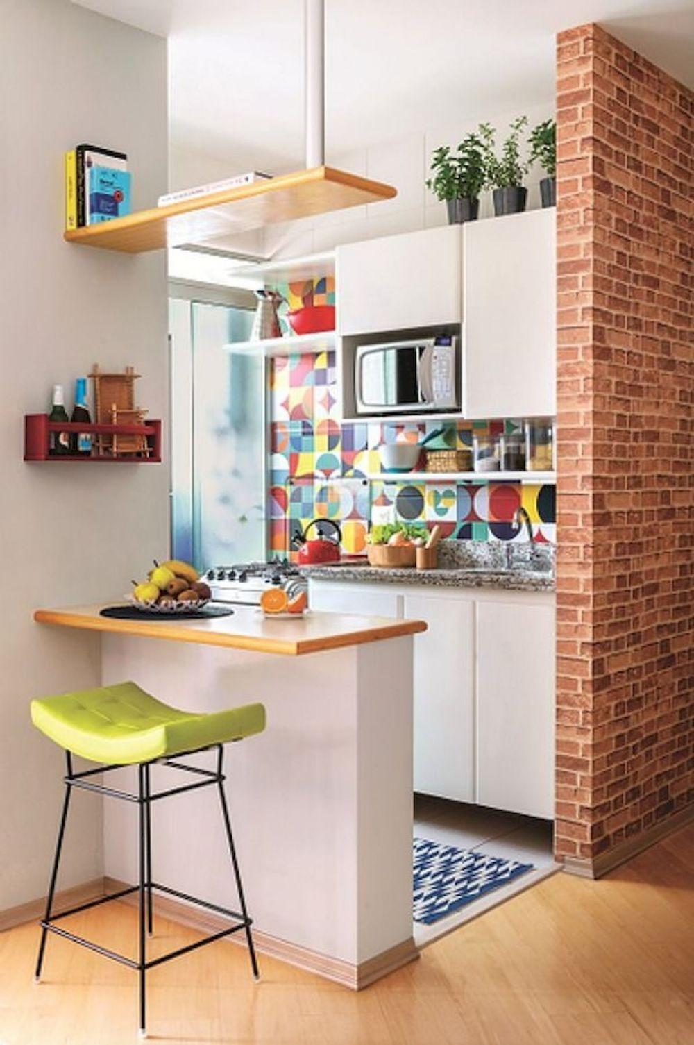 Cocok untuk Pasutri Muda, Ini 10 Desain Dapur Mungil Berbagai Tema