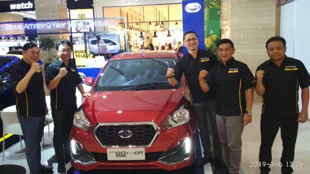 Datsun Go+ Panca CVT Dikenalkan Pada Konsumen di Yogyakarta
