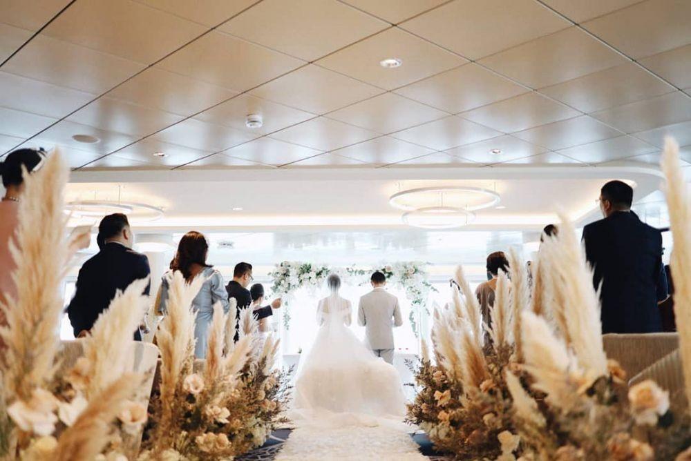 Menikah di Kapal Pesiar, Ini 14 Ide Pernikahan ala Yuanita Christiani