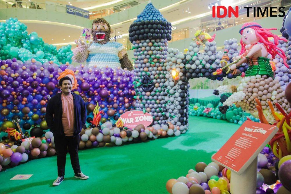 12 Potret Kece Instalasi Balon di Surabaya, Unik dan Kekinian Abis!