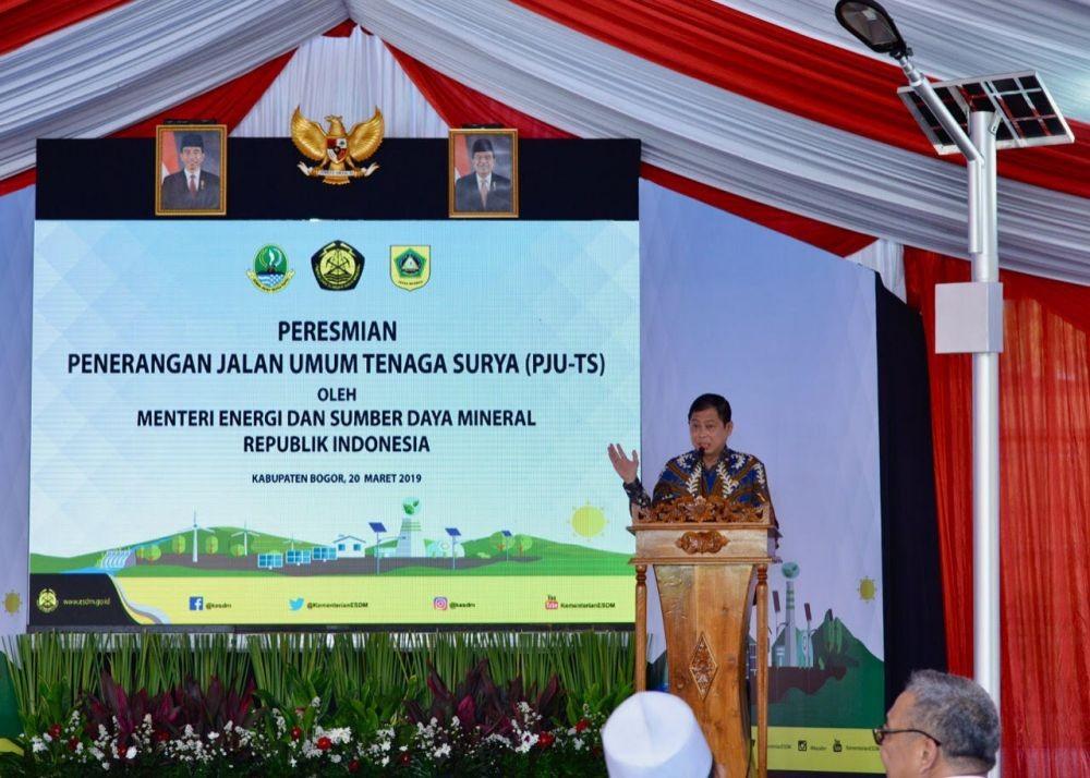 Sebelumnya Gelap Gulita, Kini Bogor Terang Benderang dengan PJU-TS