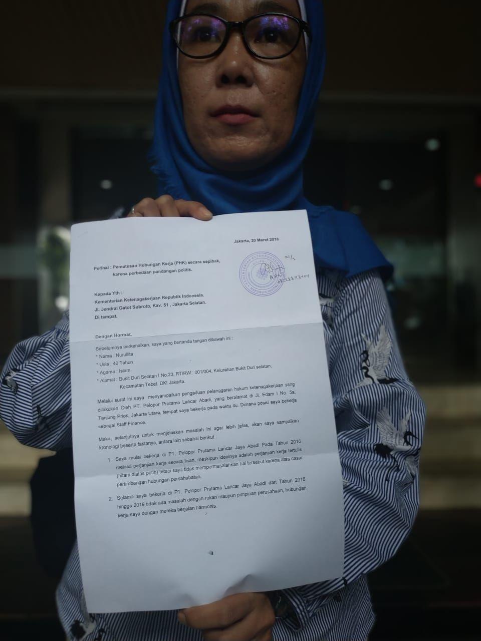 Mengklaim Dipecat Karena Mendukung Jokowi, Ini Jawaban Perusahaan