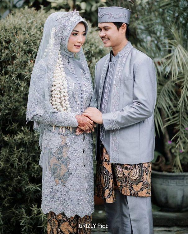 8 Model Kebaya Dengan Hijab Di Hari Pernikahan