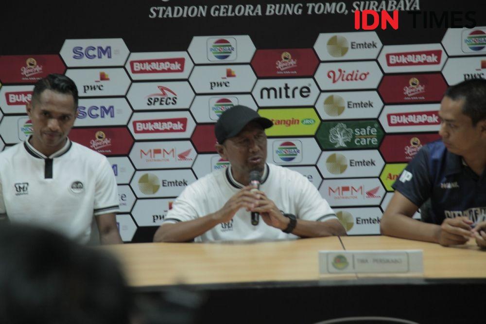 Madura United Raih Kemenangan Perdana,RD Tak Puas