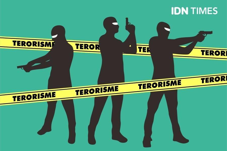 Terduga Teroris Penjual Kacamata 10 Tahun Tinggal di Caruban