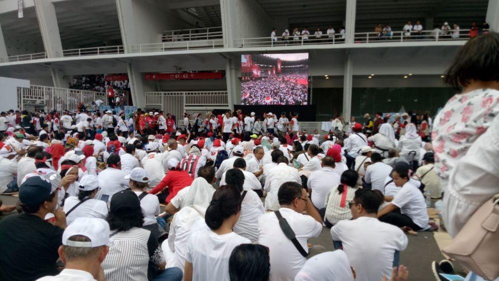 [LINIMASA] Serunya Kampanye Akbar Jokowi-Ma'ruf Amin di GBK