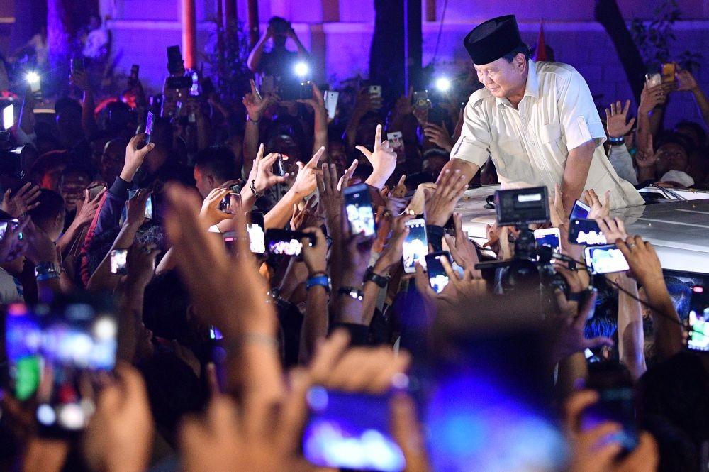 Acara Syukuran Kemenangan Dipindah dari Monas ke Rumah Prabowo
