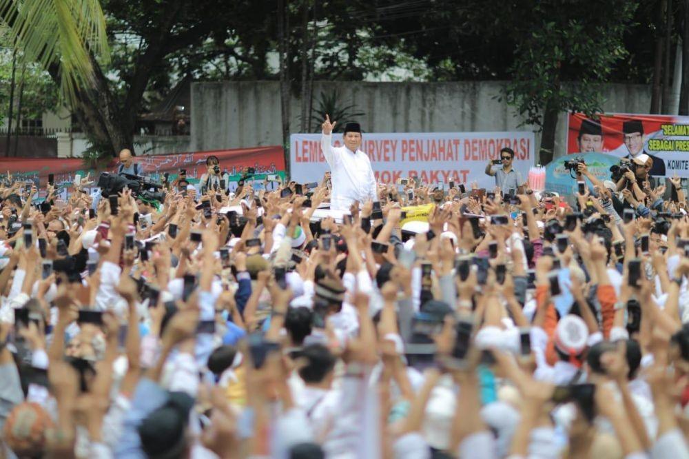 Aneh! Dulu Prabowo Percaya Quick Count, Sekarang Kok Tidak?