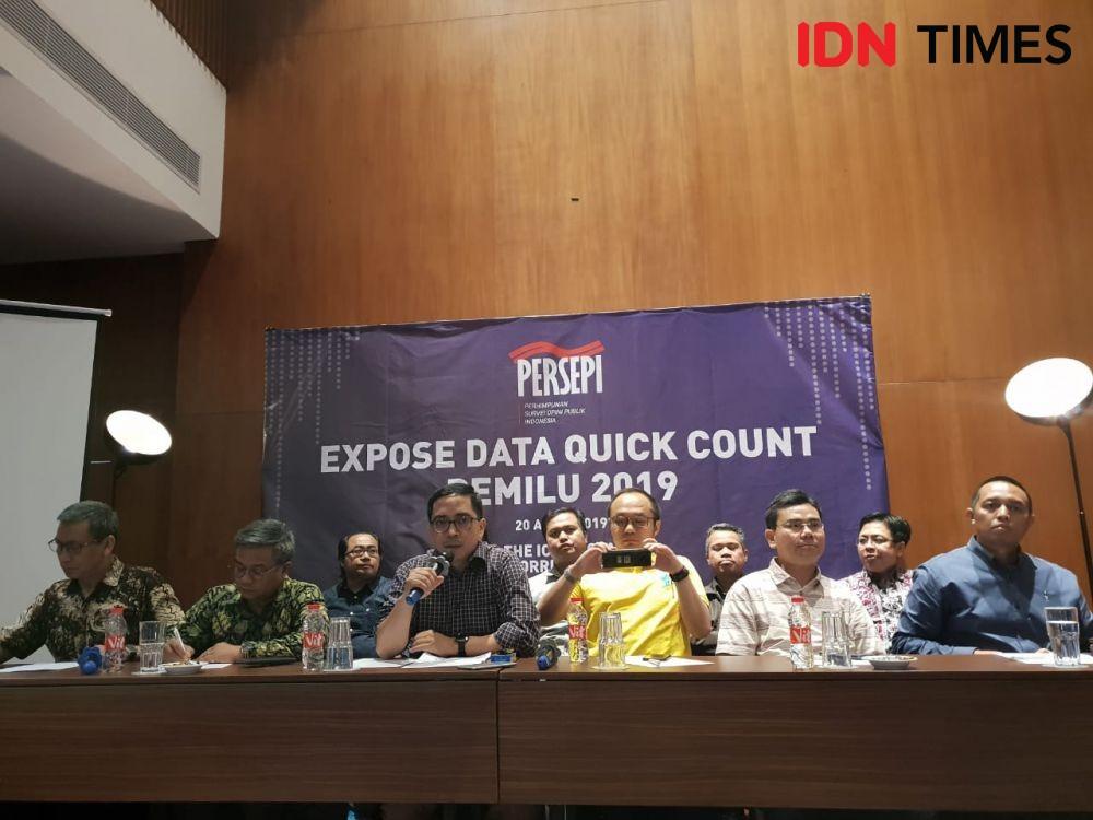 Lembaga Survei Persepi Tantang Prabowo Buka Data Real Count