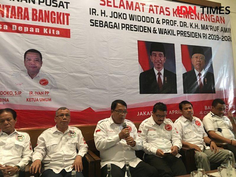 Nusantara Bangkit Siap Laporkan Prabowo Jika Pecah Belah Bangsa