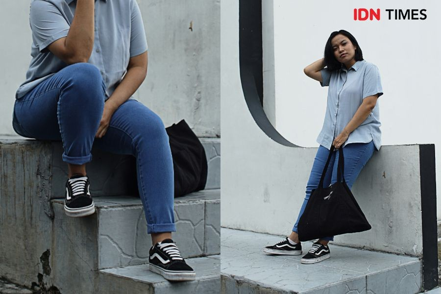Intip Yuk, Tips Mix and Match Jeans ala Editor IDN Times