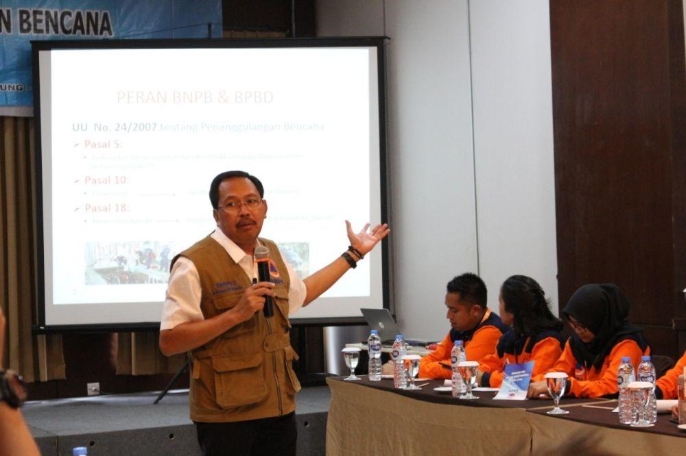 BNPB Ajak Awak Media Sosialisasikan Siaga Bencana Kepada Masyarakat