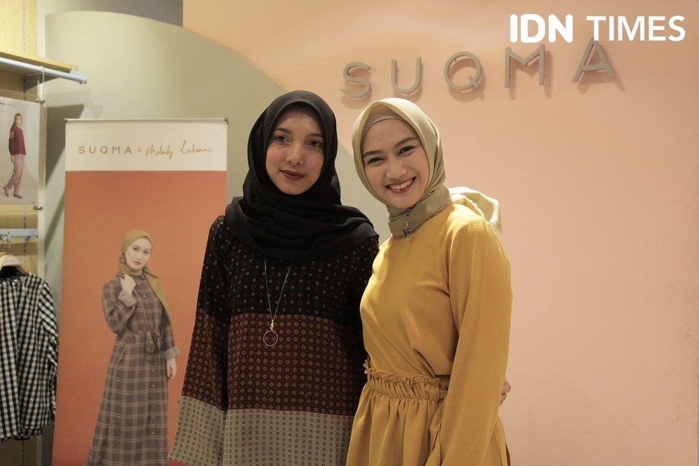 Gandeng Melody, Brand Fashion Muslim Ini Luncurkan Koleksi Baru