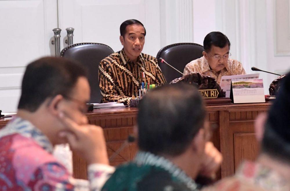Datang ke Istana, BPIP Minta Jokowi Bentuk Zaken Kabinet