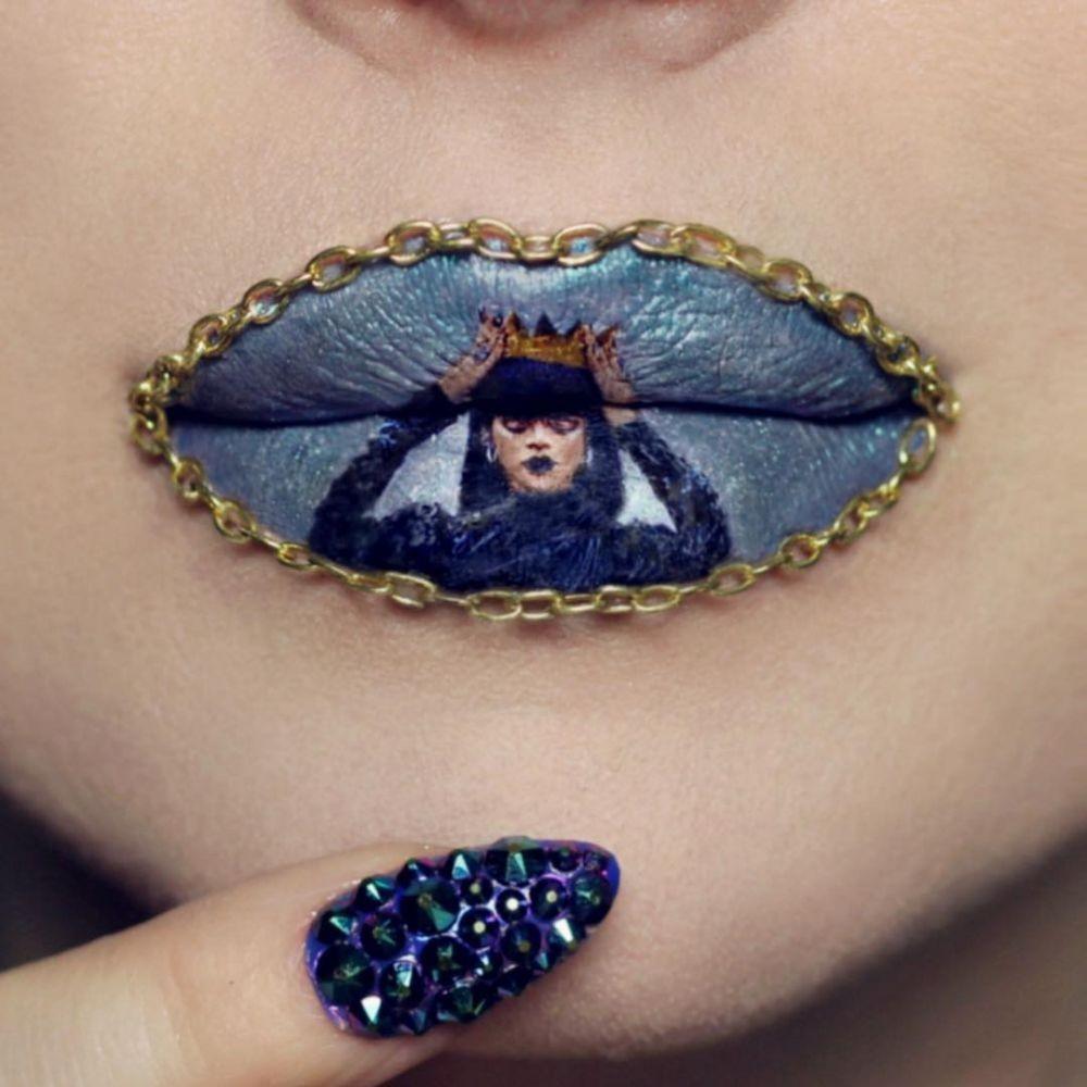 Unik dan Keren, 20 Seni Lukis di Bibir ini Bakal Bikin Kamu Terpana!