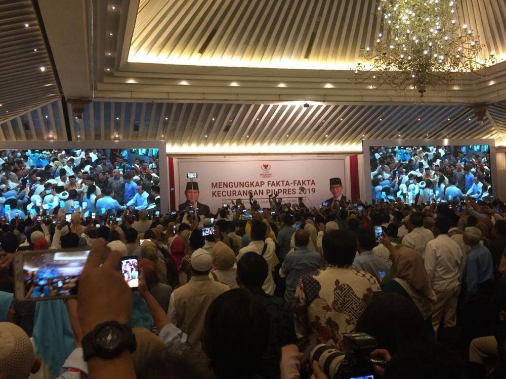 Klaim Prabowo Raih 54 Persen, BPN: Ayo Adu Data