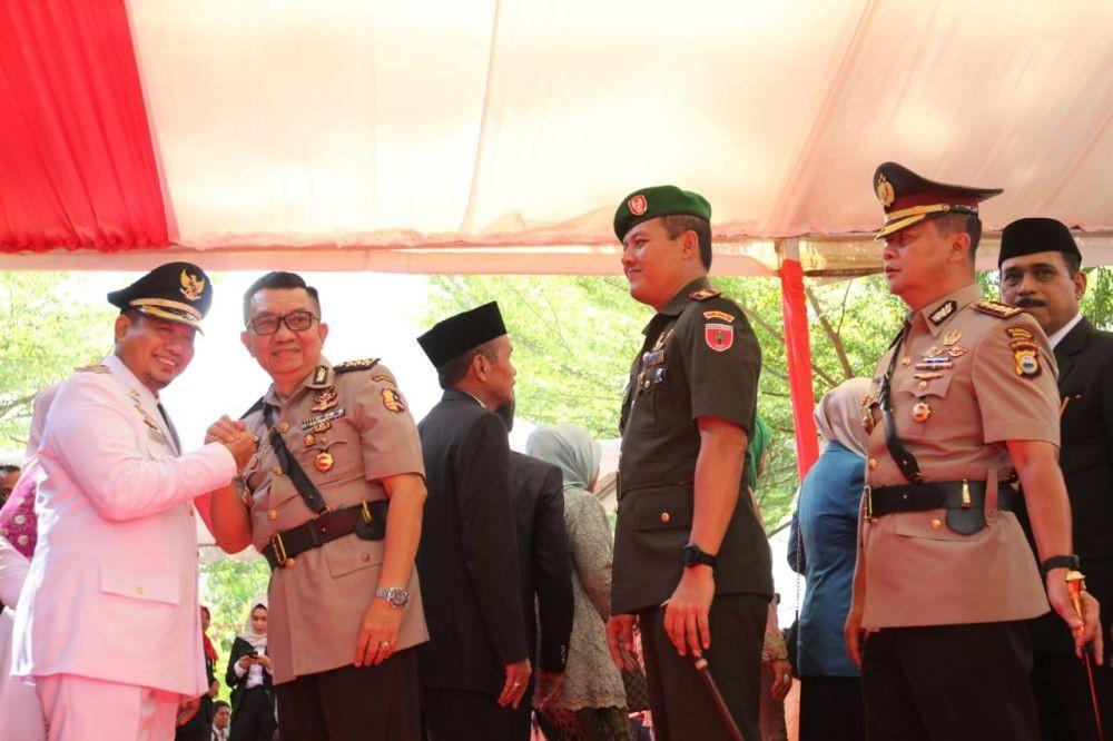 Gubernur Nurdin Resmi Lantik Iqbal Suaeb sebagai Pj Wali Kota Makassar
