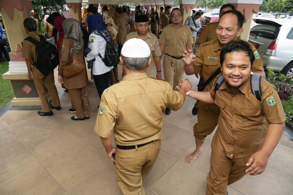 Ratusan ASN Banten Bolos di Hari Pertama Masuk Usai Libur Lebaran