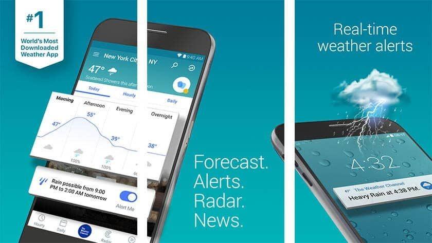 7 Aplikasi Cuaca Terbaik untuk Teman Mudikmu, Sekadar Mengantisipasi