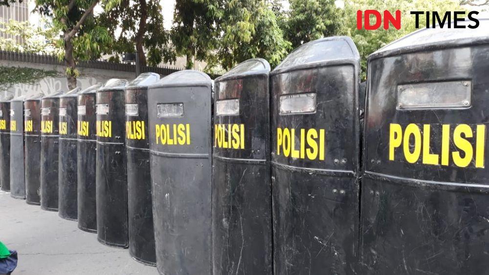Saat Sidang Tahunan, Polisi Intimidasi Jurnalis Peliput Demo Buruh