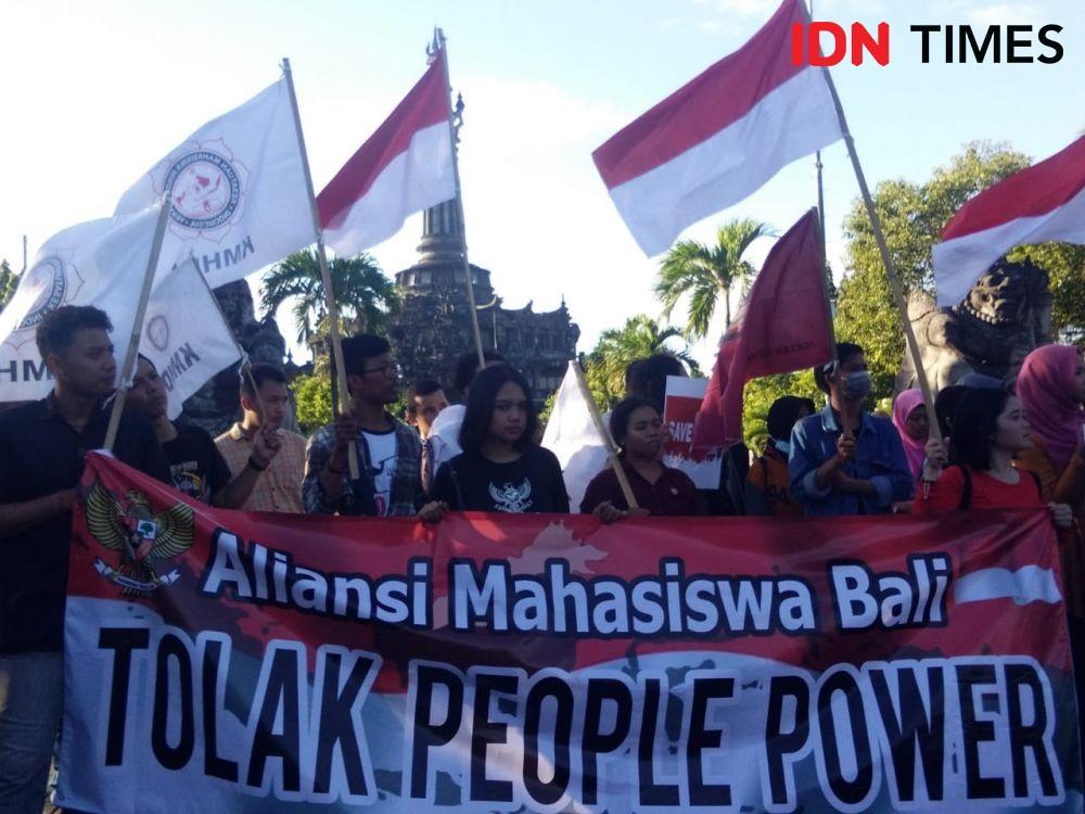 Aliansi Mahasiswa di Bali Tolak People Power & Istilah Cebong-Kampret