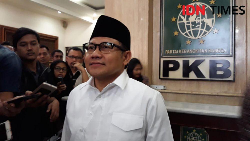 Bertemu Ma'ruf Amin, Cak Imin Lobi Jadi Ketua MPR