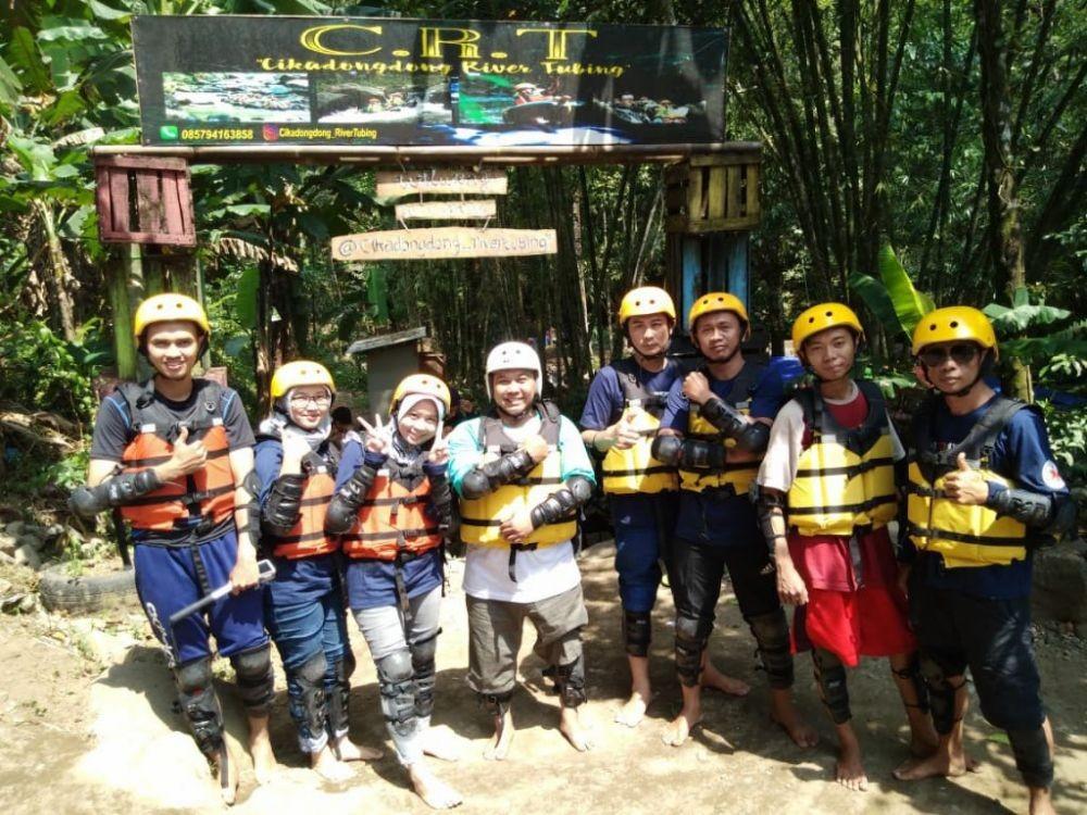 Cikadongdong River Tubing, Wisata Asik di Majalengka