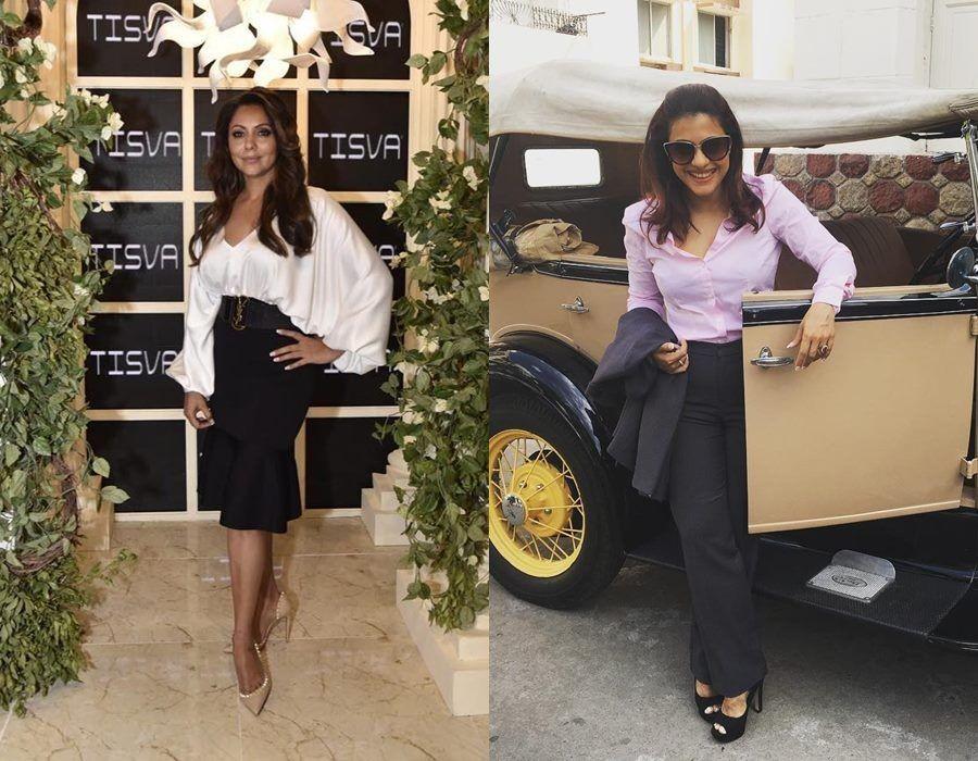 Adu Gaya Fashion Gauri Khan Vs Kajol, Dua Sosialita Bollywood Stylish