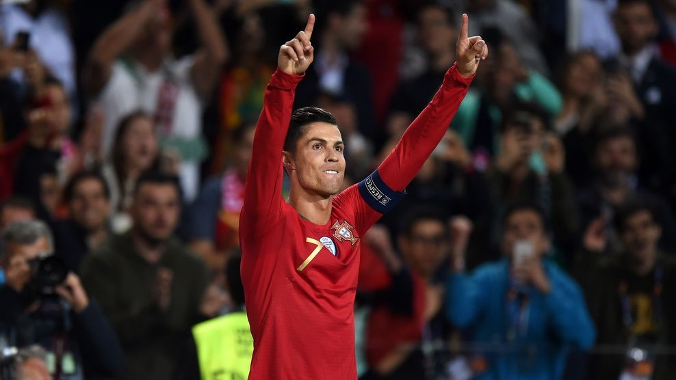 [FOTO] Cristiano Ronaldo Pimpin Portugal Juarai UEFA Nations League
