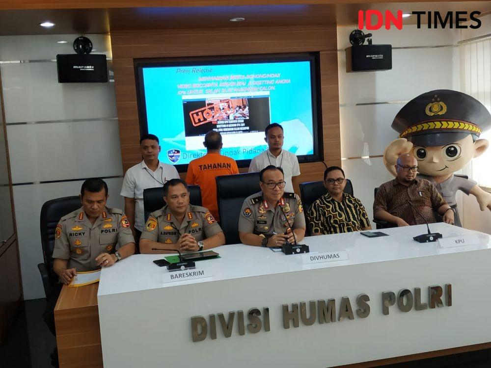 Polri: Penyebar Hoaks 'Server KPU Menangkan Jokowi' Seorang Dosen