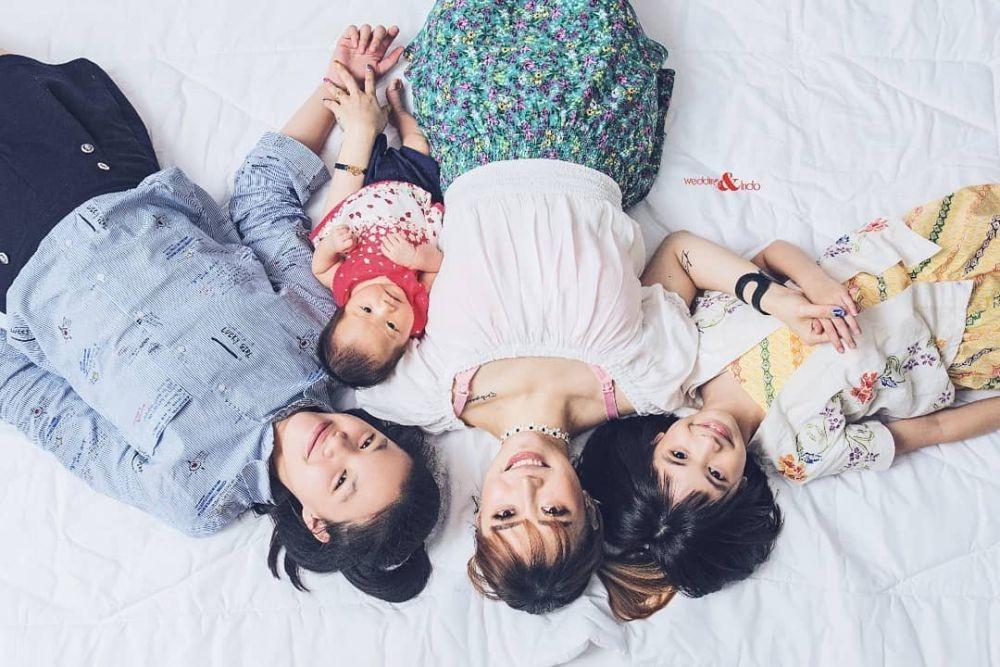 10 Potret Kehamilan Anak ke-4 Moa Aeim yang Makin Memesona