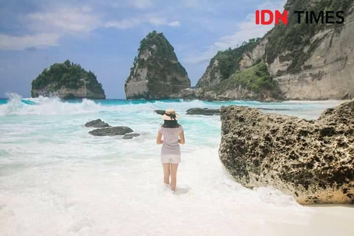 Diamond Beach, Destinasi Favorit Wisatawan di Nusa Penida
