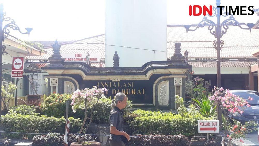 Dianiaya Sepupu Pakai Gagang Cangkul, Sengod Terbaring di RSUP Sanglah