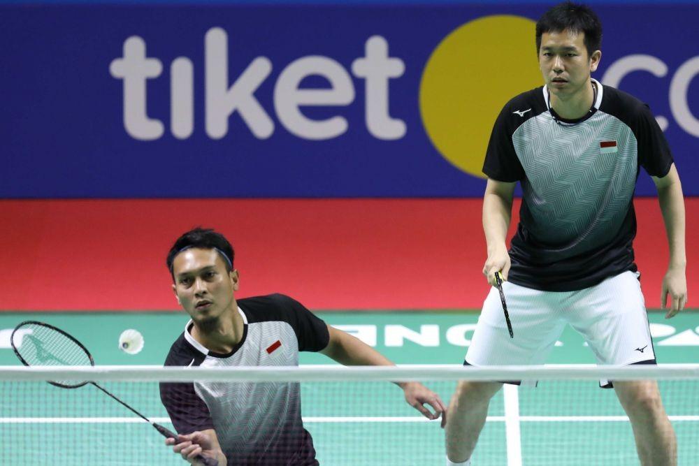The Daddies Amankan Tempat di Perempat Final Indonesia Open 201