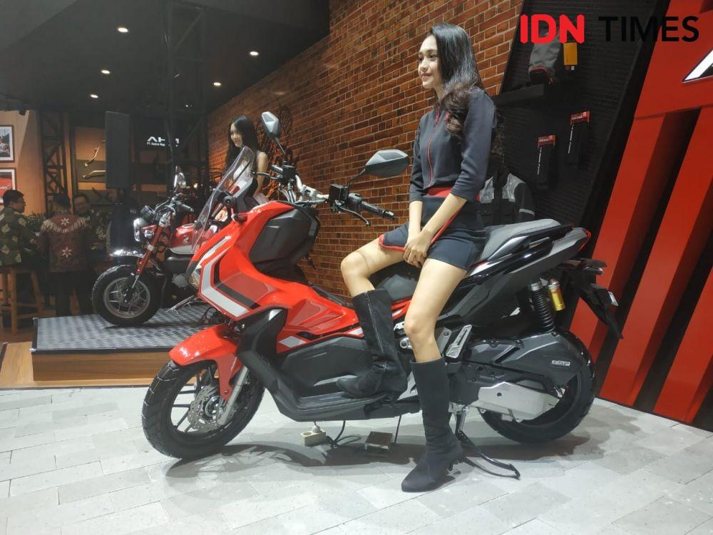 Baru Diluncurkan, Honda ADV 150 Jadi Motor Favorit di GIIAS 2019