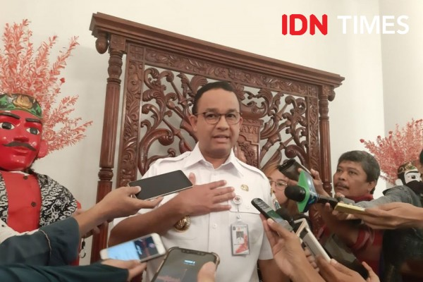 Anies: Denda Gak Pakai Masker di Jakarta Sudah Sampai Rp5 Miliar