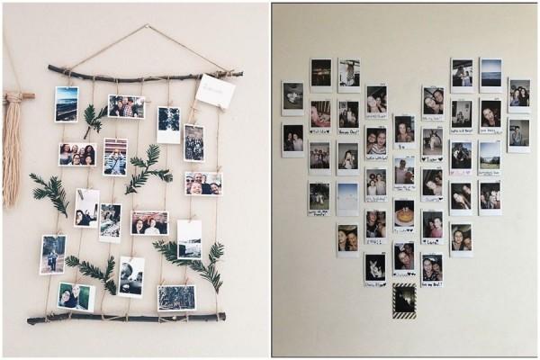 10 DIY Paling Gampang Pajang Foto di Kamar Biar Hasilnya ala Pinterest