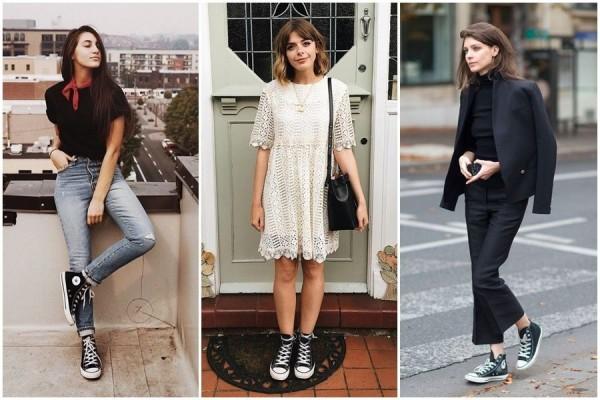 Ide Outfit Dengan Sepatu Converse Bisa Casual Sampai Formal