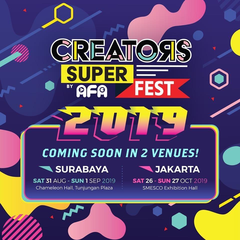 Creators Super Fest 2019 Hadirkan Banyak Konten Khusus Budaya Jepang