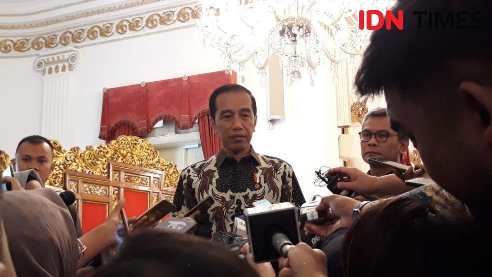 Ingatkan Menterinya, Jokowi: soal Pindah Ibu KotaTiru Negara Lain