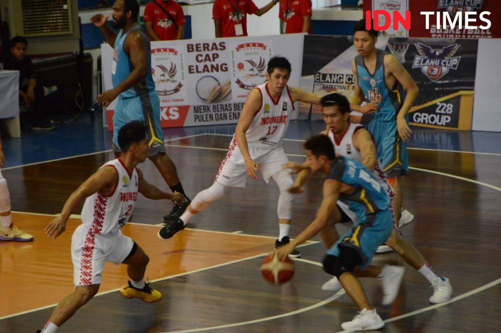 Timnas Basket Putra Masih Penasaran dengan Tuan Rumah