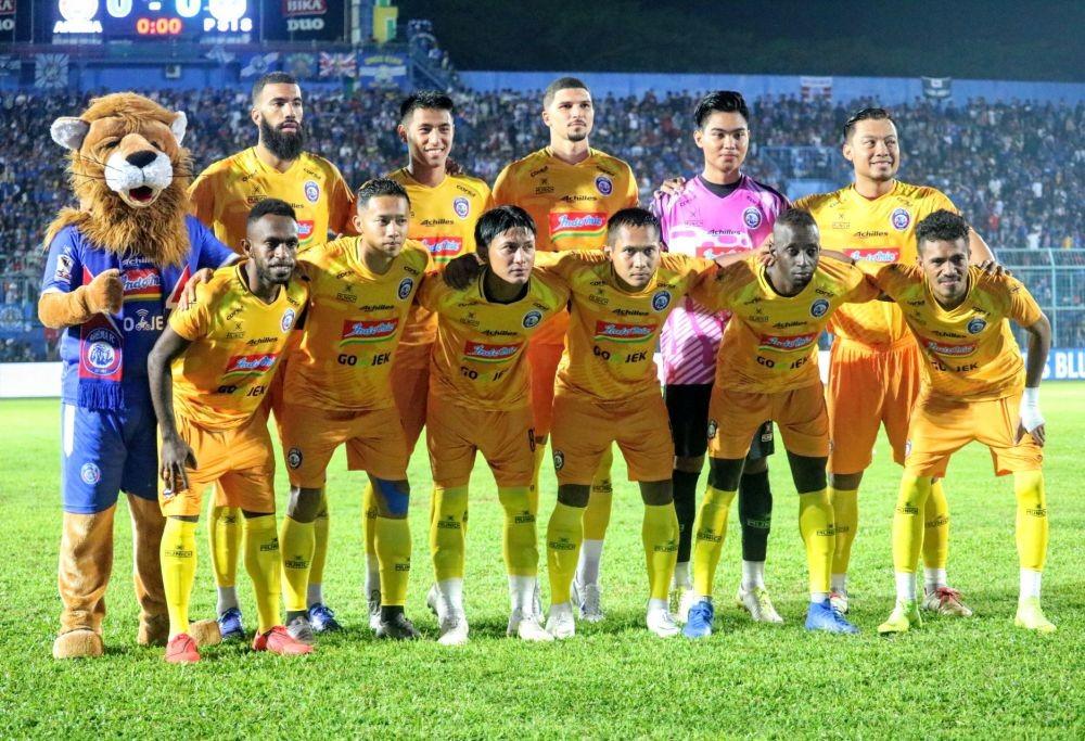 Arema FC Gunakan Apparel Baru Saat Jamu Persebaya