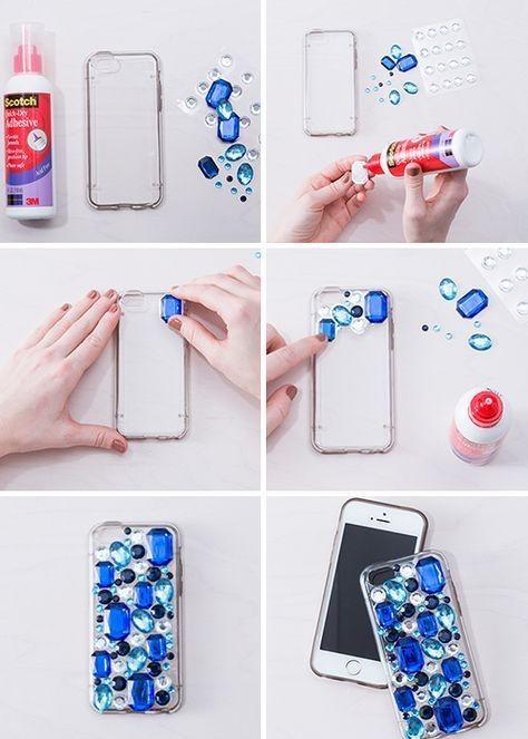 10 DIY Tergampang Biar Phone Case Makin Menarik, Bisa Pake Washi Tape!