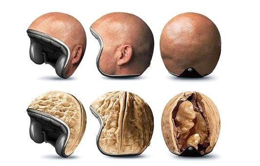 Desain 5 Helm Super Unik, Ada yang Bisa Menipu Pak Polisi Loh!