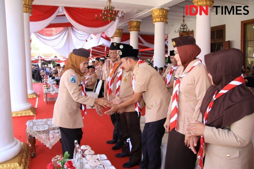 Soekarwo Mundur, Khofifah Dukung Emil Jadi Ketua Demokrat Jatim